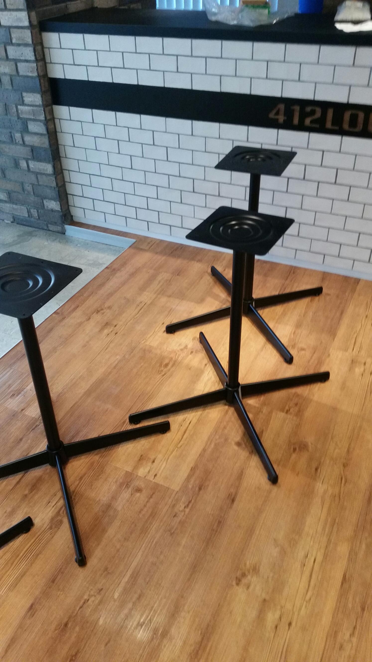 パレットテーブル搬入施工
