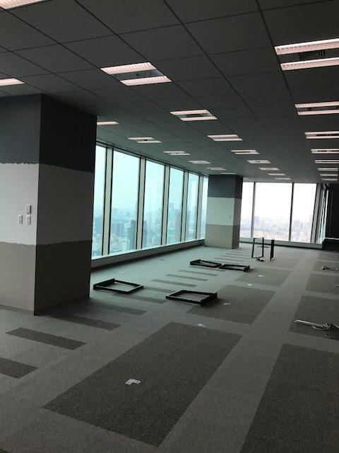 オフィス新規家具搬入・設置