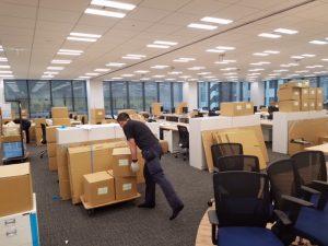 オフィス移転新規搬入作業